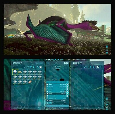 Xbox One Ark Survival Evolved PVE Official Dinos Quetzal