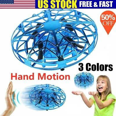 Mini Drones 360° Rotating Smart Mini UFO Drone for Kids Toys Xmas Toy Gifts US.