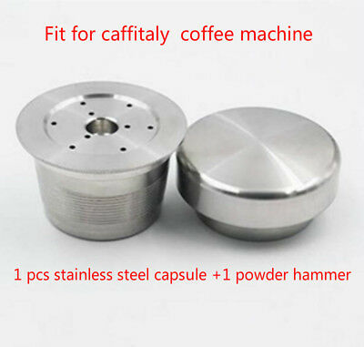 compatible caffitaly coffee Machine STAINLESS STEEL Metal capsule