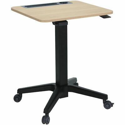 Professional Portable Lectern Oak and Black