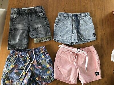 Boys Shorts 4 x Pairs Indie, Cotton On, Fred & AB/CD - All Apx Size 3