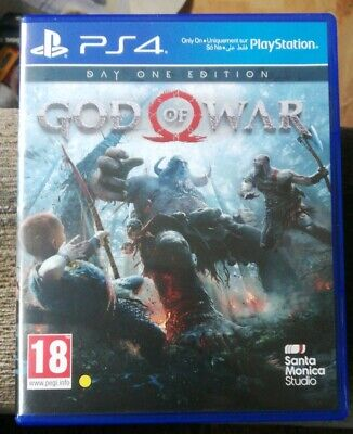 Ps4 game god of war. (post to uk only).