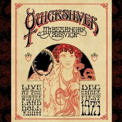 Quicksilver Messenger Service - Live at the Winterland Ballroom 1973 CD NEW