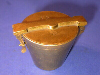 bg592, Bechergewicht, Gewicht, weight, brass, nested cup, scale, waage, Crossen,