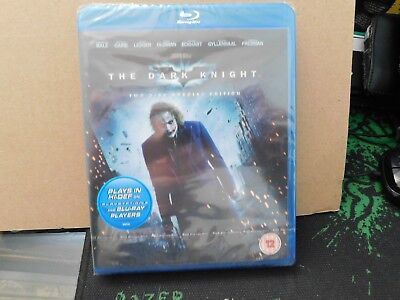 The Dark Knight. 2 Disc Special Edition - New/Sealed. Blu Ray