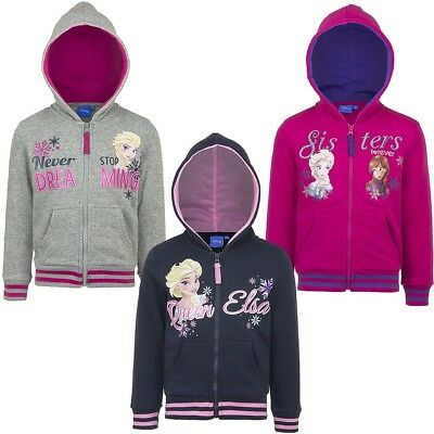 Jacket Ice Princess Girl Sweat Jacket Frozen Casual Jacket Pink Pink Black #703