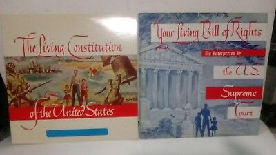 The  Constitution Of The United States And The Bill Of Rights 2 Records