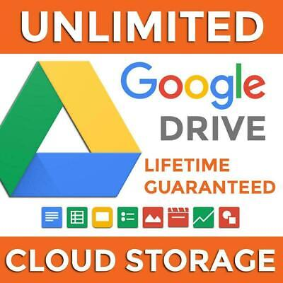 🚀 Unlimited Google Drive On Your Account Lifetime + 🎁