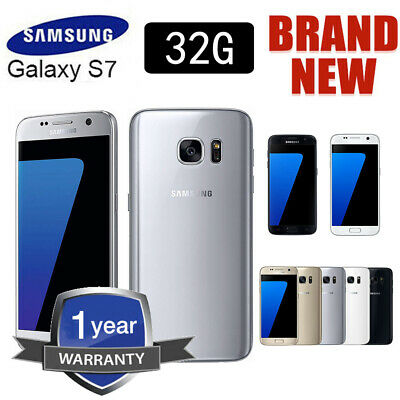 32GB Factory Unlocked Samsung Galaxy S7 G930F LTE 4G Android Phone Sim Free NEW!