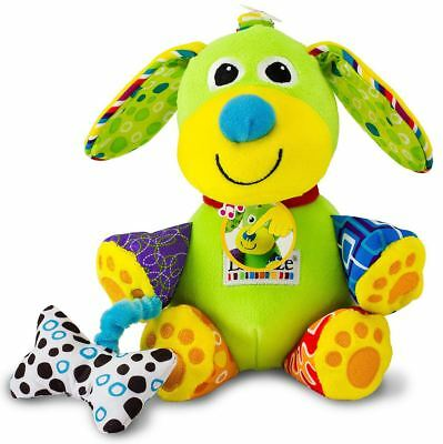 Lamaze PLAY & GROW PUPSQUEAK Baby Activity Development Rattle/Soft Toy BNWt