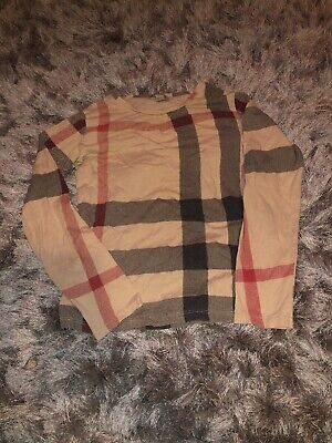 Girls Burberry Top Age 10