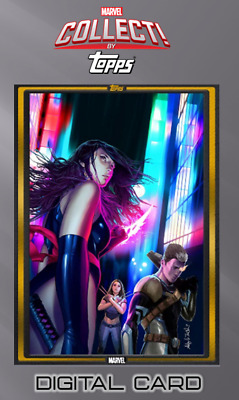 2019 COMIC BOOK DAY NOV 15 GOLD FALLEN ANGELS #1 Topps Marvel Collect Digital
