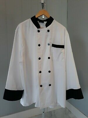 Absolute Chef White Chef's Jacket Size XL