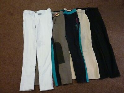 Five Pair Girls Trousers Age 12