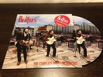THE BEATLES LP PICTURE DISC the complete rooftop concert