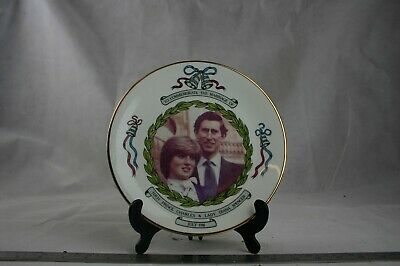 Prince Charles, Lady Diana Wedding Commemorative Plate 5304