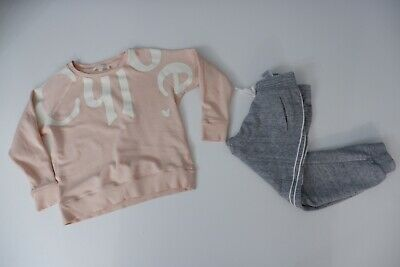 Chloe Tracksuit Jumper & Bottoms Age 6 Years Gc Girls