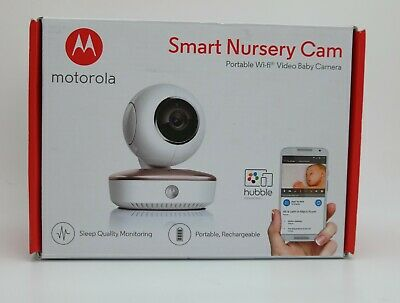 Motorola Portable Smart Nursery Connected Wi-Fi Video Baby Monitoring Camera