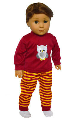 Wizard Themed Pajamas for American Girl Dolls 18 Inch Doll Clothes