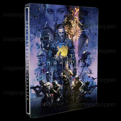 Death Stranding Japan RARE Exclusive Pablo Uchida Art Limited PS4 STEELBOOK ONLY