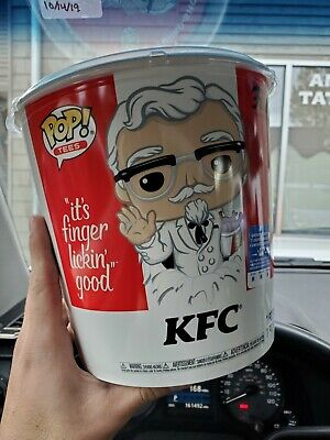 Funko Exclusive.Pop! Ad Icons: KFC - Gold Colonel Sanders + Pop! Tee(IN HAND)