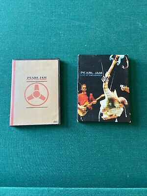 Pearl Jam Dvd Lot Live At The Garden And Single Video Theory