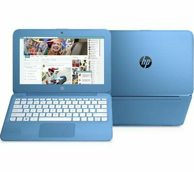 HP Stream 11 11.6in Blue Laptop Intel Celeron© N3060 2GB RAM 32GB eMMC - Windows