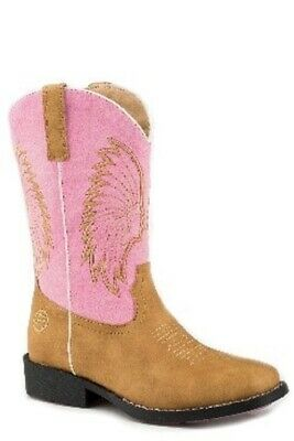 ROPER - Kids - Big Chief - Tan / Pink - 18226227 - NEW