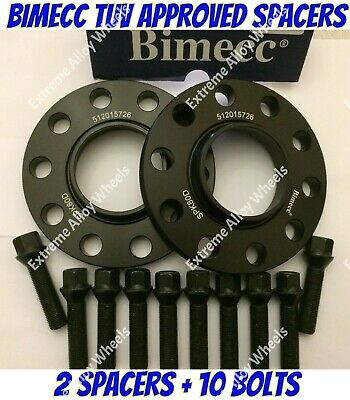 BLACK Audi Q3 2011 Onwards 5x112 57.1 25mm ALLOY Hubcentric Wheel Spacers