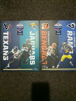Nfl London Games 2019 Wembley Houston Texans Vs Jacksonville Jaguars Cincinnati
