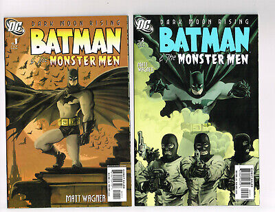 Batman And The Monster Men #1-6 Dc Comics 2006 Nm Or Better Matt Wagner Complete