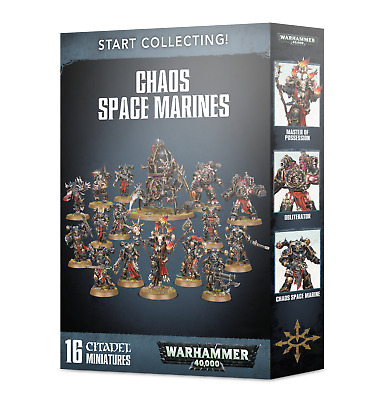 Start Collecting! CHAOS SPACE MARINES Shadowspear Warhammer 40k NEW