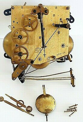 Clock Mechanism French ODO Manufacture number 152152