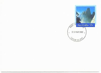 Set of 4 Envelopes - First Day Covers - Yarram Victoria - Mint Condition (1096)