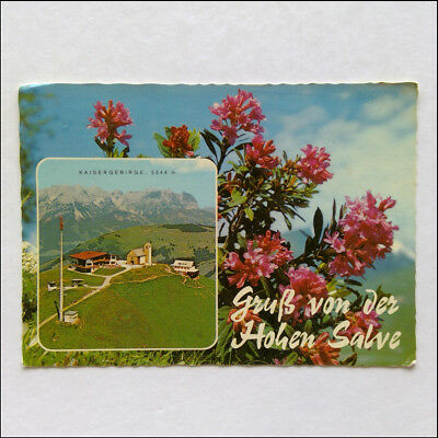 Greetings from the Hohe Salve Kaiser Mountains Postcard (P360)
