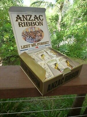 The Official and Authorised ANZAC Ribbon 24K GOLD E-Plated Wattle Lapel Badge