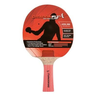 Dragonfly Level Pro 9000 Table Tennis Bat Brand New Sealed