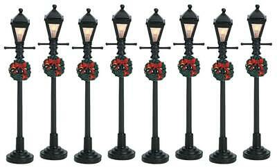 Lemax - Street Lamp 4' Battery operated x 8