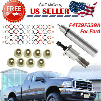 Injector Sleeve Cup Removal Installation tool Kit F4TZ9F538A For 94-03 Ford 7.3L