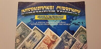 International Banknote Currency Collection & Folder
