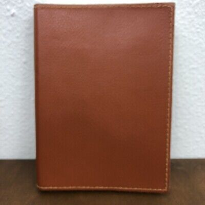 Pinetti Brown Italian Leather Diary