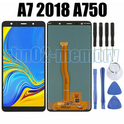 Per Samsung Galaxy A7 2018 SM-A750FN LCD Display Touch Screen Vetro Schermo GFIT