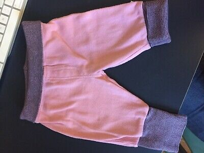 Mothercare baby girl trousers, 0-3 months, pink