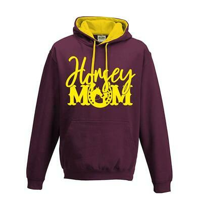 Women`s Kids Childs Horse Riding Jumping Hoody Horsey Mom Equestrian Top