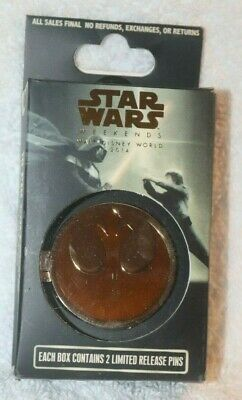 Star Wars Weekends 2014  Reveal/Conceal  Mystery (Yellow Rebellion) Set Unopened