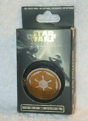 Star Wars Weekends 2014  Reveal/Conceal  Mystery (Yellow Empire) Set Unopened