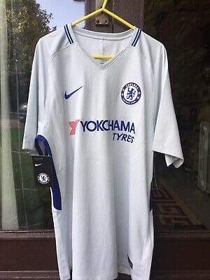 Nike Chelsea FC Away 2017/2018 Replica T Shirt Football Size Large 905512 044