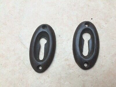 Pair of Vintage Bakelite Escutcheons