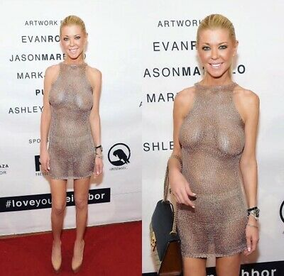TARA REID - IN A DRESS - If You Can Call It That !???