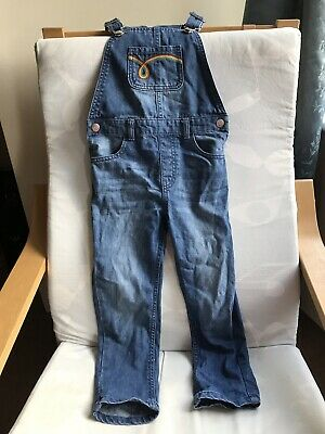 Little Bird By Jools Oliver Denim Dungarees Retro 5-6 Years Girls Or boys!